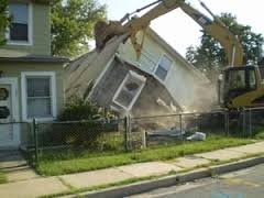 house-demoliton-wrecking-ball-southern-md-mechanicsville-st-marys-county