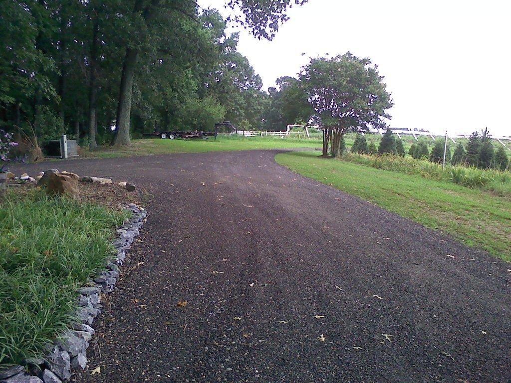 Recycled Asphalt Bluestone driveway contractor